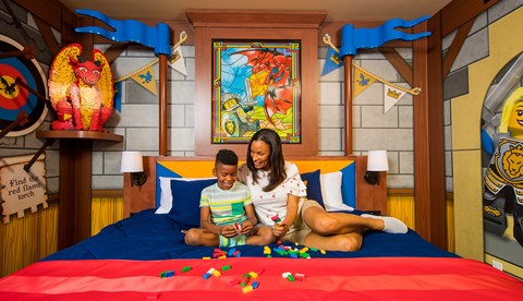 Ct1 Castle Knights Mom Boy Bed