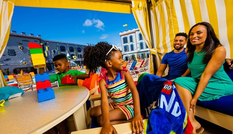 Rent a Cabana at the Castle Hotel
