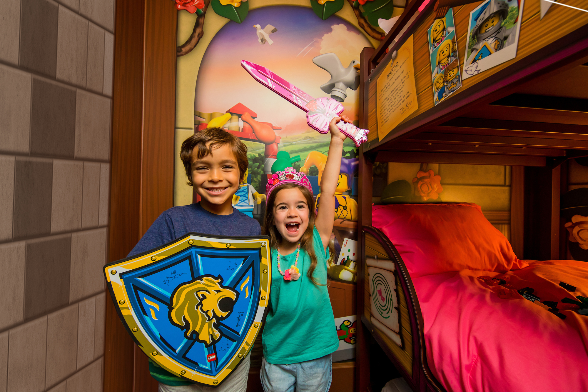 Ct2 Castle Princess Kids Play Boy Girl