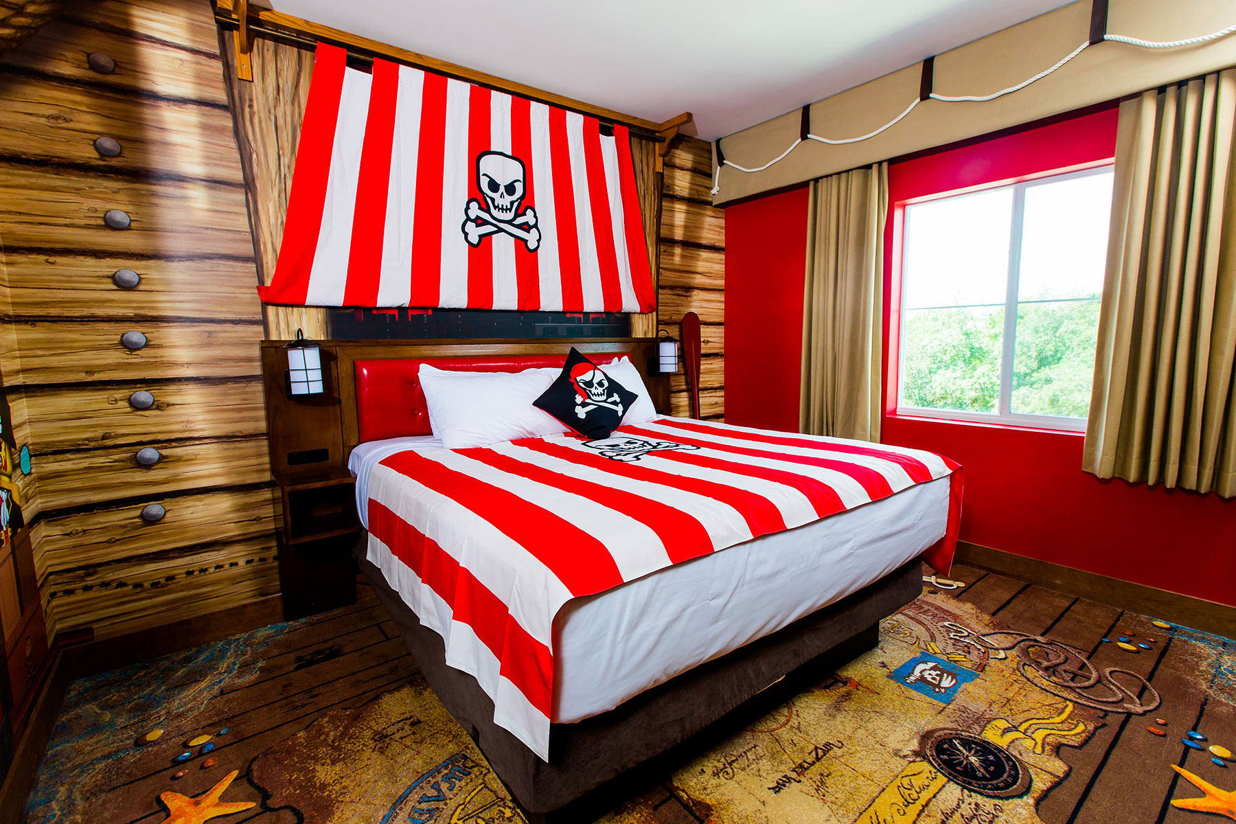 Set sail with Pirate Rooms