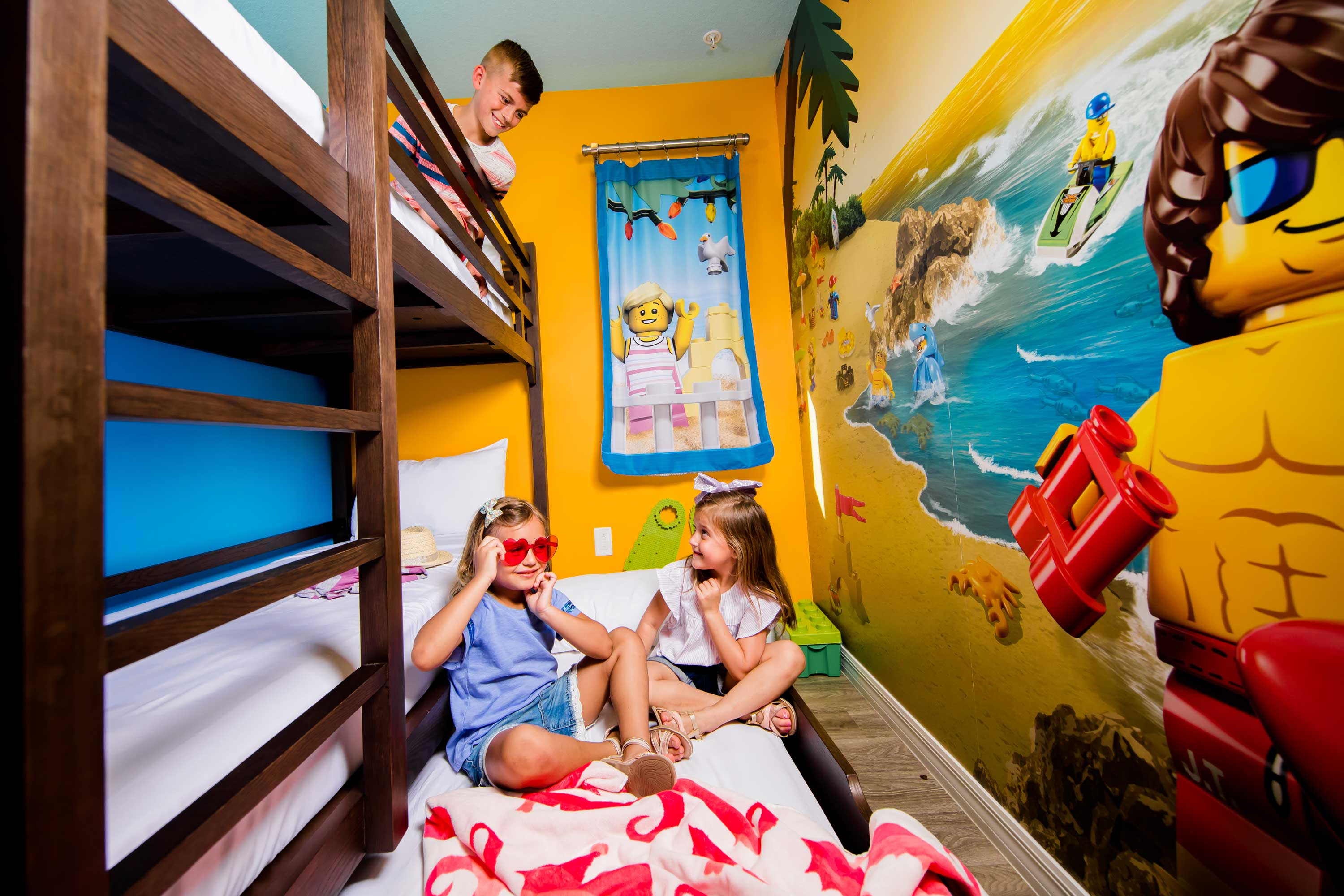 Beaach Retreat Kids Room