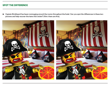 Spot The Difference Pirate Themed 2