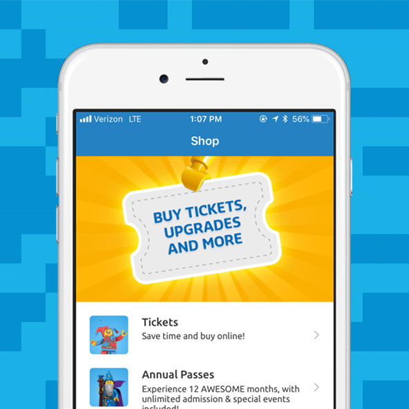 App Feature Purchase Tickets