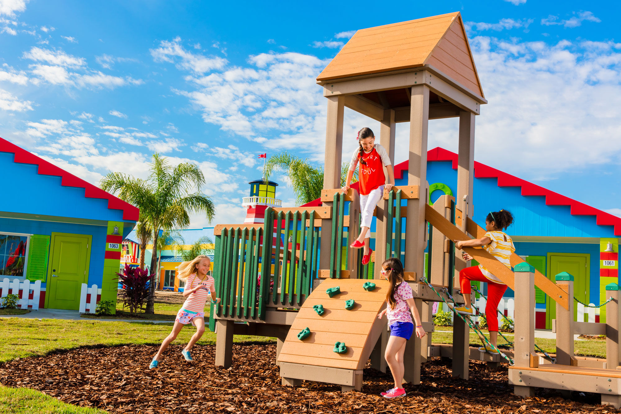 Outdoor play areas in every Cove