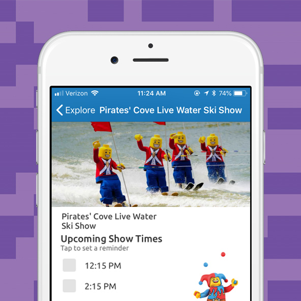 App Feature Show Times