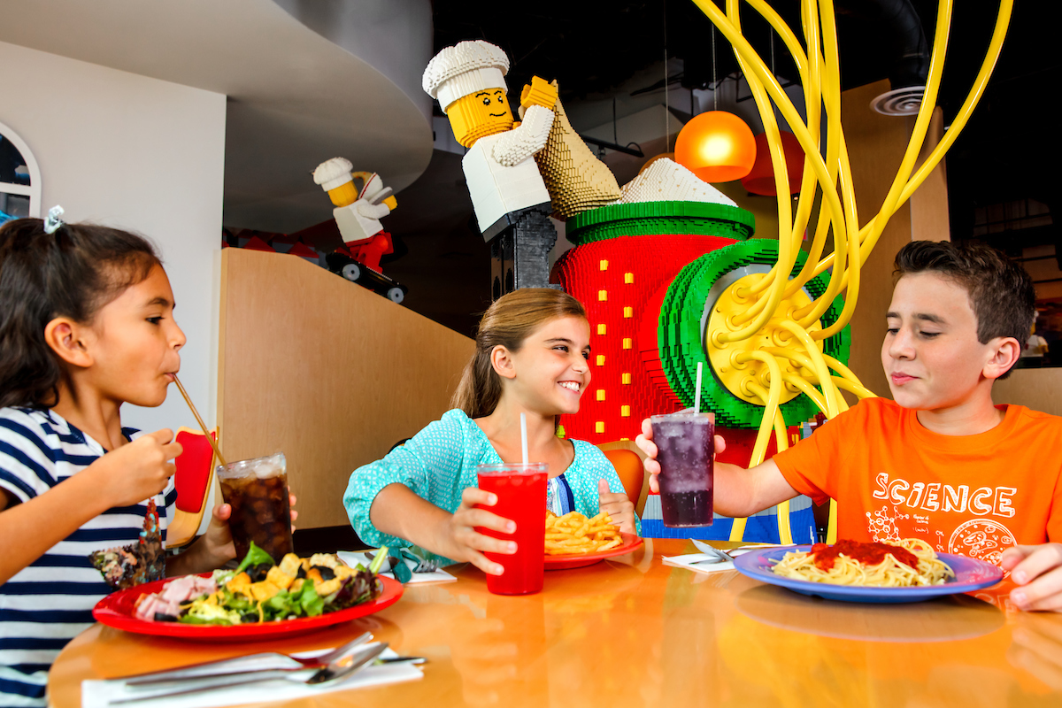 Dining at LEGOLAND Hotel