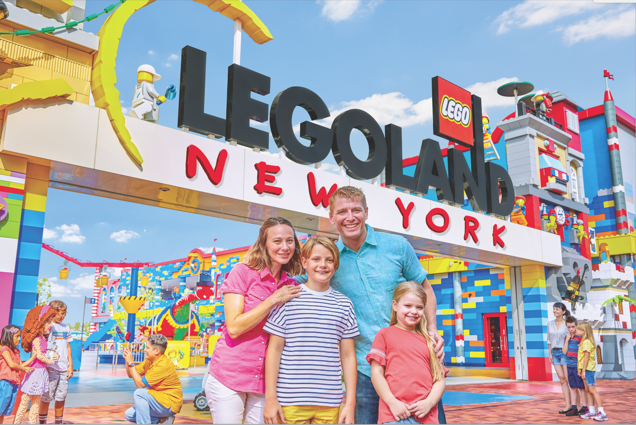 LEGOLAND New York Family
