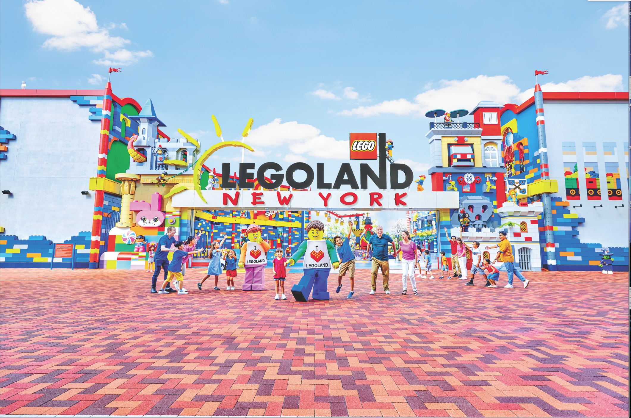 LEGOLAND New York Welcome Arch